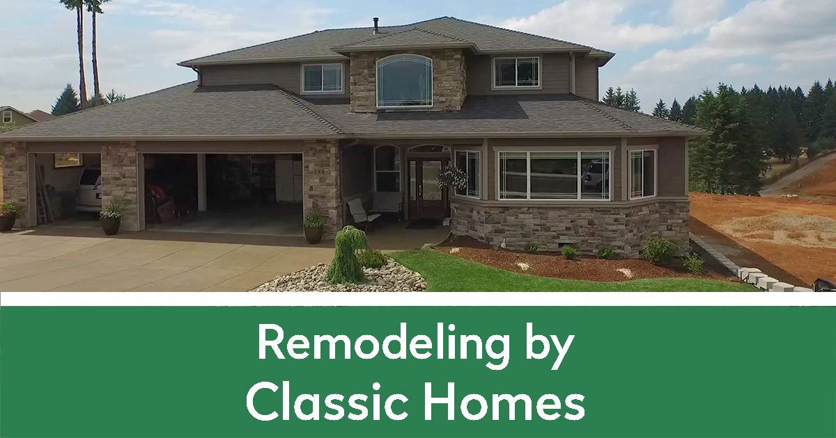 Remodeling by Classic Homes