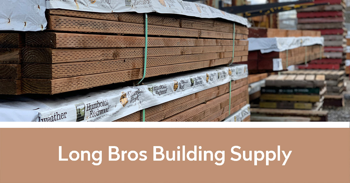 Pallets of Wood | Long Bros Building Supply