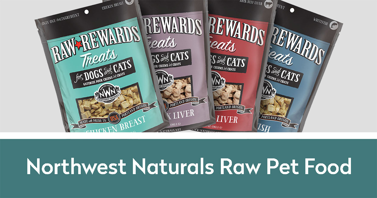 Northwest Naturals Raw Pet Food Raw Rewards Treats of different flavors | Northwest Naturals Raw Pet Food