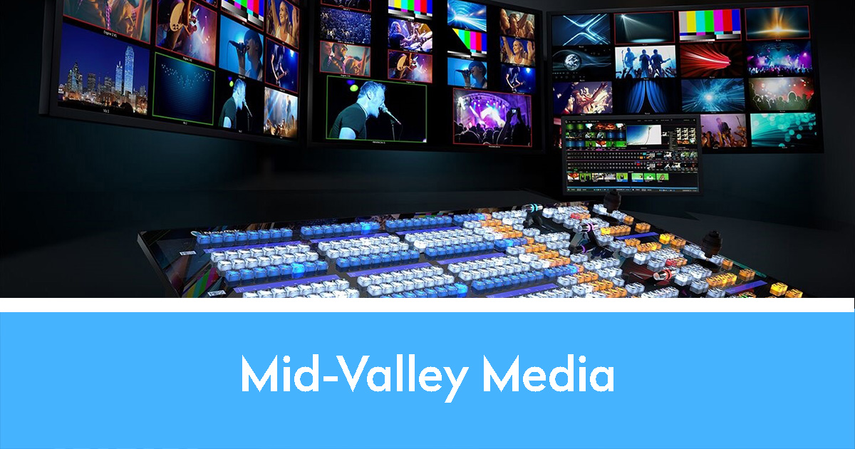 Mid-Valley Media and tricaster workstation
