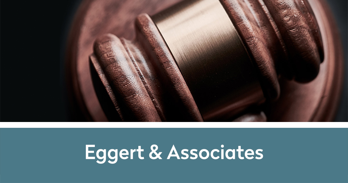 Eggert & Associates with gavel