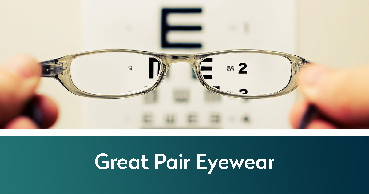 Glasses making a vision chart clearer | Great Pair Eyewear