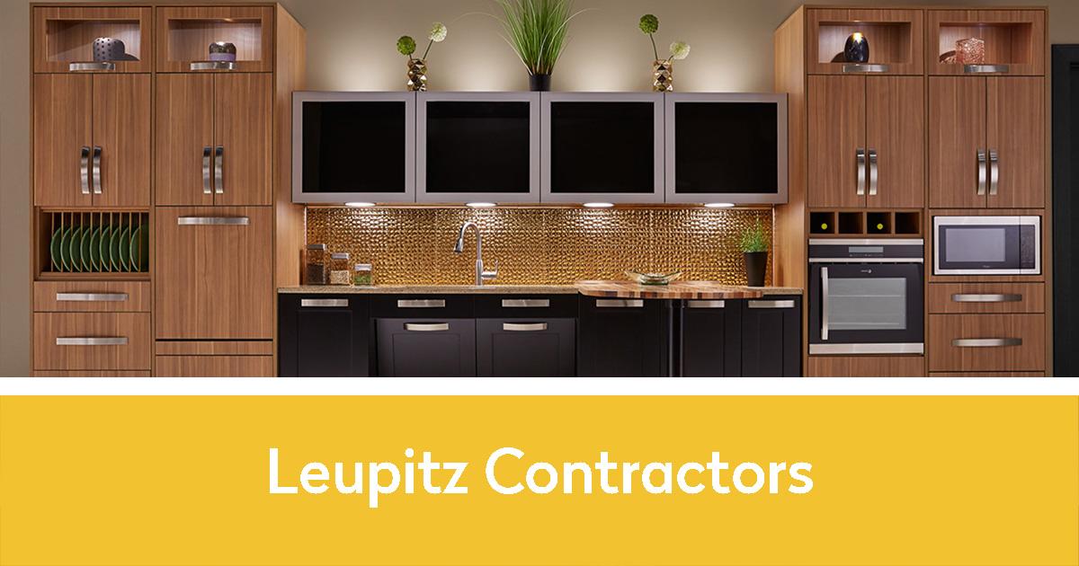 Beautiful redone kitchen | Leupitz Contractors